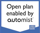 Open Plan enabled by Automist